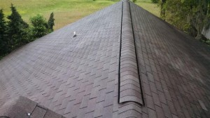 New ridge vent installation completed!