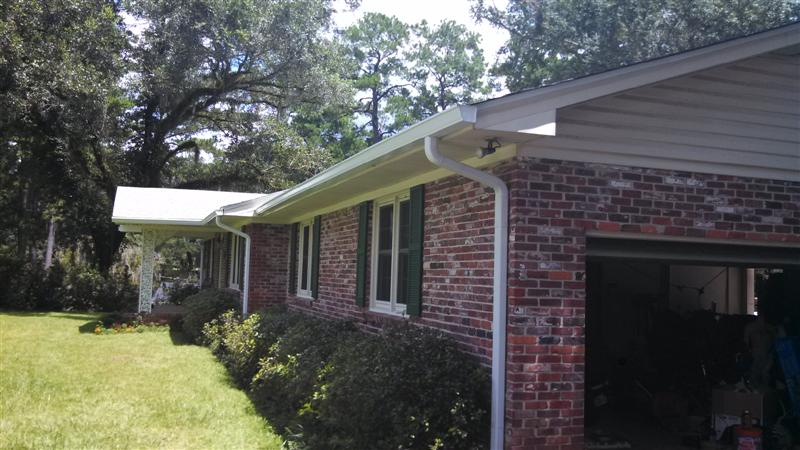 Seamless Gutters Stubbs Roofing Tallahassee