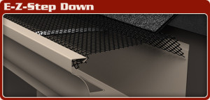 Gutter guards for roofing.
