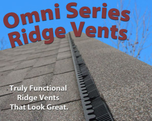Ridge vent for your roof