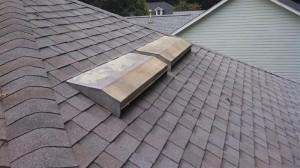 Existing attic vent system