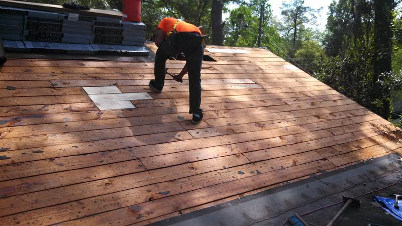 Underlayment Removal Stubbs Roofing Tallahassee