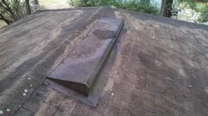Old off ridge vent