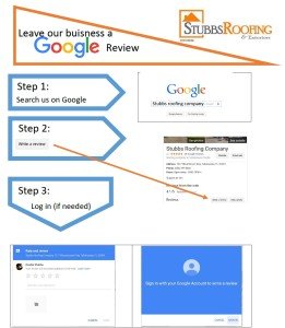 Click to learn how to post a Google Review