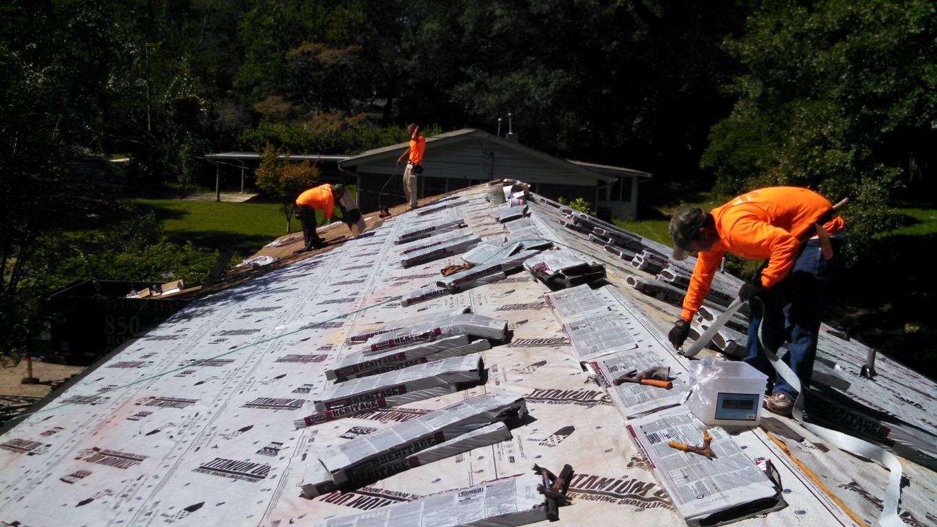 Roof Replacement Architectural Shingles In Tallahassee Fl